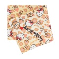 Coupon 50x54cm Hello Kitty Heart léopard reige - 468