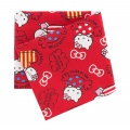Coupon 50x54cm Hello Kitty candy rouge - 468