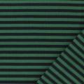 Tissu jersey marine/vert laize de 85 cm 100%coton - 468