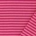 Tissu jersey rose/rose clair laize 85 cm 100%coton - 468