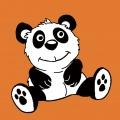 Kit canevas soudan 20/20cm panda - 47