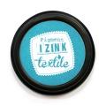 Encreur izink textile Aladine turquoise - 470