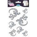 Sticker textile aladine salamandre glitter - 470