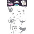 Sticker textile aladine pissenlis glitter - 470