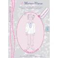Patron Madame Maman tunique Garance 8 10 12 ans - 472