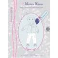 Patron Madame Maman pantalon jean 6-7-8 ans - 472