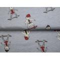Tissu sweat mélangé Stenzo skate boys - 474