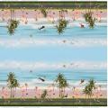 Tissu digital jersey double bord Stenzo flamingo o - 474