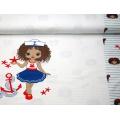 Panneau jersey Stenzo 65 x 150 cm sailor girls - 474