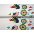Tissu jersey double bord Stenzo flowers - 474