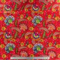Jersey imprimé stenzo flowers  150 cm - 474