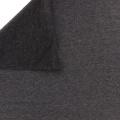 Tissu Stenzo sweat coton gris foncé chiné 160cm - 474