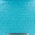 Tissu stenzo jersey animaux turquoise - 474