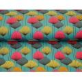 Tissu Stenzo jersey fleur du voyageur 150cm - 474