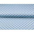 Tissu Stenzo jersey paquerettes 150cm - 474