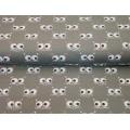 Tissu Stenzo jersey yeux de chat 150cm - 474