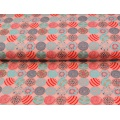 Tissu Stenzo jersey ronds de fleurs 150cm - 474