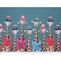 Tissu Stenzo jersey dp double bord girafe  150cm - 474