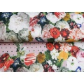 Tissu Stenzo jersey dp jardin de roses 150cm - 474