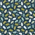 Tissu Dashwood coton snow forest - 476