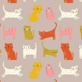 Tissu Dashwood cool for cats - 476