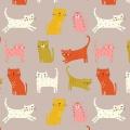 Tissu Dashwood cool for cats 110 cm - 476