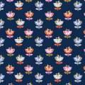 Tissu Dashwood amélie navy1 110 cm - 476