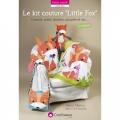 Le kit couture little fox livre Créapassions - 482