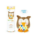 Kit Kullaloo hibou Lou marron - 486