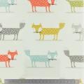 Tissu Fryett's enduit foxy multicolre - 492