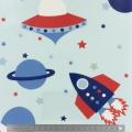 Tissu enduit Fryett's rockets multicol - 492