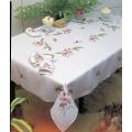 Nappe coton blanc rond 90 - 55
