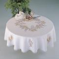 Nappe rectangle coton blanc 140/180 sans dentelle - 55