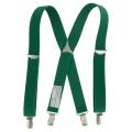 Bretelles enfant 25mm 70cm vert - 62