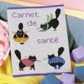 Carnet sante color cats - 64