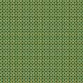 Tissu petite rosace jaune pétrole - 64