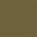 Tissu petite rosace jaune nuit b - 64