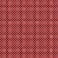 Tissu petite rosace corail aubergine d - 64