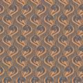 Tissu imprimé gamme ara papaye - 64