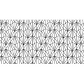 Tissu géometrique coquillage origami - 64