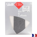 Collant aspect chiné t3/4 noir - 66