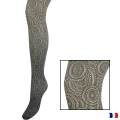 Collant spirit chiné t1/2 noir - 66