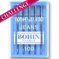 Aiguille machine jeans -étui de 5- - 70