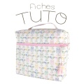 Lot de 20 fiches tuto vanity week end - 74
