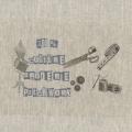 """Coupon """"100% couture bleu"""" sur métis naturel - 77"""