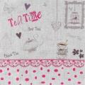 """Coupon """"teatime"""" rose métis blanc - 77"""