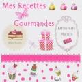 """Coupon """"mes recettes gourmandes"""" s/ métis blanc - 77"""