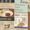 Tissu 100% coton motif fashion Yuwa 6m - 82