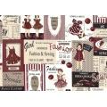 Tissu Yuwa 100% coton motif fashion 3m - 82