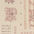Tissu Yuwa 100% coton point de croix 17m - 82